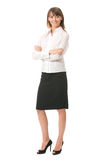 Businesswoman, isolated Stock Photos