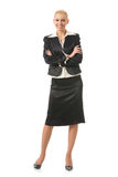 Businesswoman, isolated Royalty Free Stock Images