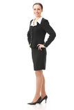 Businesswoman, isolated Stock Images