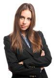 Businesswoman isolated on white Stock Photo
