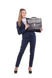 Businesswoman isolated Royalty Free Stock Photos