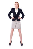 Businesswoman isolated Stock Photography