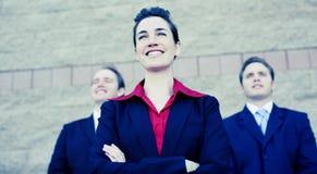 Businesswoman leader Stock Photos