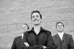 Businesswoman leader Royalty Free Stock Image
