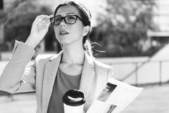 Businesswoman Leadership Occupation Job City Concept Royalty Free Stock Photo