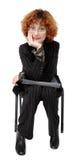 Businesswoman Listens Stock Photos