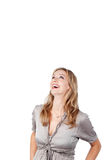 Businesswoman Looking At Copy Space Stock Photo