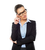 Businesswoman looking at Stock Photos