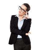 Businesswoman looking at Royalty Free Stock Photo