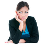 Businesswoman Looking Serious Stock Photos