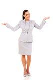Businesswoman looking surprised Stock Photos
