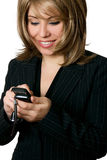 Businesswoman making a call Royalty Free Stock Image