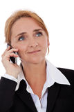 Businesswoman making phone call Royalty Free Stock Image