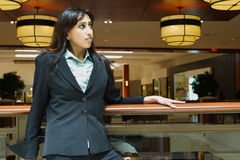 Businesswoman In A Mall Royalty Free Stock Photos
