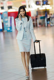 Businesswoman mobile phone Royalty Free Stock Image