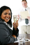 Businesswoman With Money Royalty Free Stock Photo