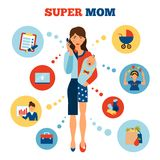 Businesswoman Mother Concept Royalty Free Stock Photography