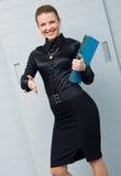 Businesswoman offering handshake Stock Photography