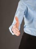 Businesswoman offering handshake Royalty Free Stock Photos