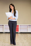 Businesswoman at the office Royalty Free Stock Photos