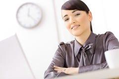 businesswoman office Στοκ εικόνα με δικαίωμα ελεύθερης χρήσης