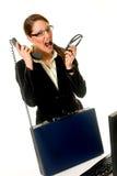 Businesswoman office Stock Photo