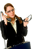Businesswoman office Royalty Free Stock Images