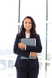 Businesswoman in the office Royalty Free Stock Photos