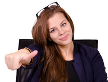 Businesswoman in the office Royalty Free Stock Images
