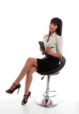 Businesswoman office worker stock image