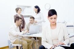 businesswoman organizer personal στοκ εικόνες