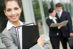 Businesswoman outdoor Stock Photos