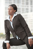 Businesswoman outside Royalty Free Stock Photography