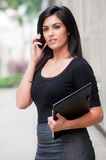 Businesswoman Outside Stock Photo