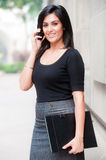 Businesswoman Outside Stock Images