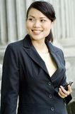 Businesswoman Outside Stock Image