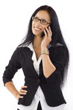 Businesswoman on Phone Royalty Free Stock Images