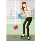 Businesswoman on phone Stock Photography