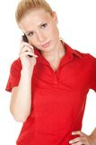 Businesswoman on the phone Royalty Free Stock Photography
