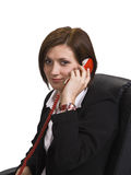 Businesswoman on the phone Stock Photos