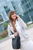 Businesswoman phone call Stock Photos