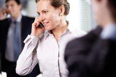 Free Businesswoman Phoning Royalty Free Stock Image - 28376656