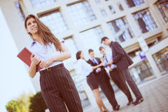 Businesswoman With Planner Royalty Free Stock Images