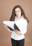 businesswoman plików Zdjęcie Royalty Free