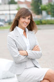 Businesswoman portarit Royalty Free Stock Photos