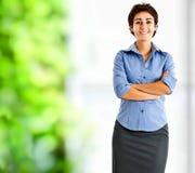 Businesswoman portrait Stock Images