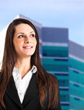Businesswoman portrait Stock Photos