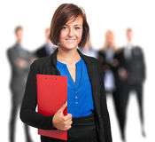 Businesswoman portrait Stock Images