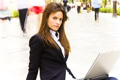 Businesswoman portrait Stock Photo