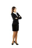 Businesswoman portrait full length Royalty Free Stock Photography